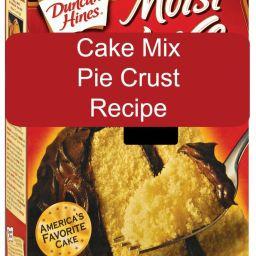 Cake Mix Pie Crust Recipe