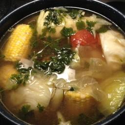 Caldo De Res (beef Soup)