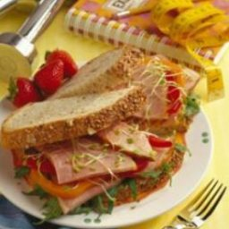 California Club Ham Sandwich