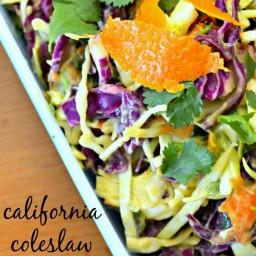 California Coleslaw