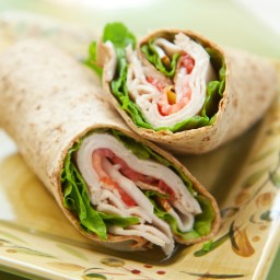 California Turkey Wrap