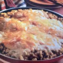 Campbell's Chicken and Stuffing Skillet