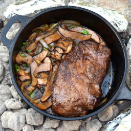 Campfire Flat Iron Steak