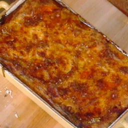Cannelloni al Forno (Baked Pasta Tubes, Casalinga Style)