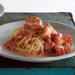 Capellini with Shrimp and Creamy Tomato Sauce