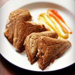 capsicum toast sandwich recipe