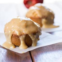 Caramel Apple Chai Muffins