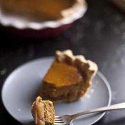 Caramelized Apple & Pumpkin Pie