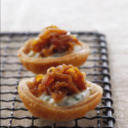 Caramelized-Onion Tartlets