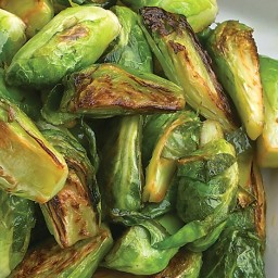 Caramelized Brussels Sprouts with Lemon