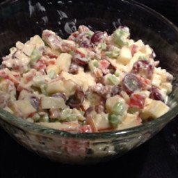 Careys Waldorf Salad