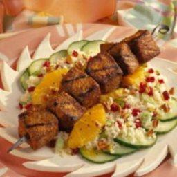 Caribbean Pork and Couscous Salad