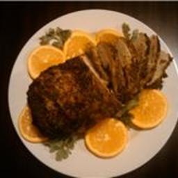 Caribbean Roast Pork Loin