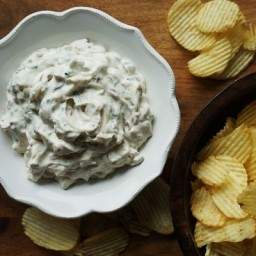 Carmelized Onion Sour Cream Dip