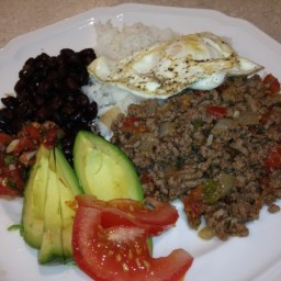 Carne Picada (Spicy Ground Beef)