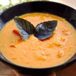 Carrot and Coconut Milk Soup