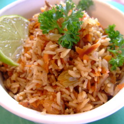 Carrot Rice (Vegan)