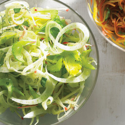 Celery, Apple, and Fennel Slaw
