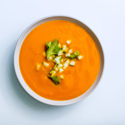 Celery Root and Carrot Soup