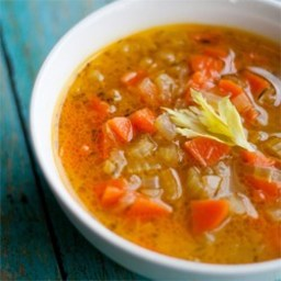 Celery and Carrot Soup