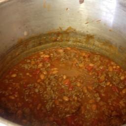 Charlotte's Chili W/ Beans