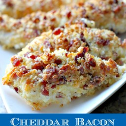 Cheddar Bacon Chicken Tenders