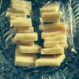 Cheese chunks