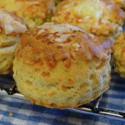 Cheese, Mustard and Thyme Scones