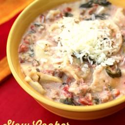 Cheese Tortellini Soup