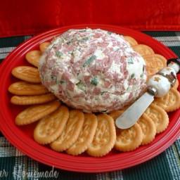 Cheeseball and Crackers