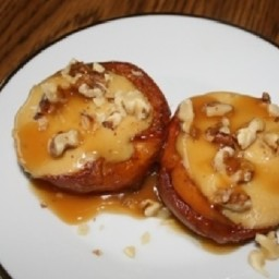 Cheesecake Stuffed Peaches