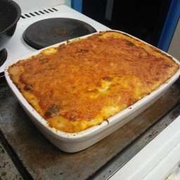 Cheesey Chicken and Mushroom Lasagna