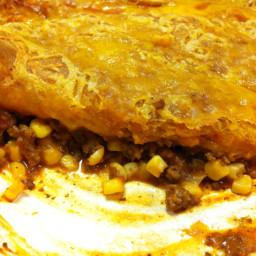 Cheesy Biscuit Burger Casserole