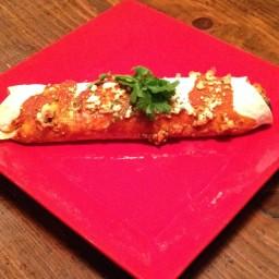Cheesy Chicken Burrito