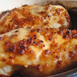 Cheesy Garlic Baked Chicken Recipe!