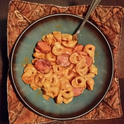 Cheesy Sausage Tortellini by LMB