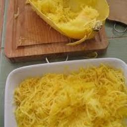 Cheesy Spaghetti Squash Casserole
