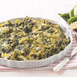 Cheesy Spinach & Artichoke Dip