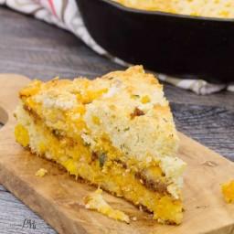 Cheesy Chorizo Cornbread
