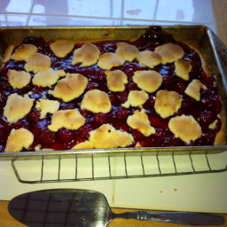 Cherry Cobbler Bars