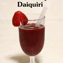 Cherry Strawberry Daiquiri
