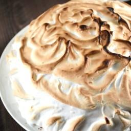 Cherry Vanilla Baked Alaska