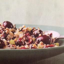 Cherry, Wild Rice and Quinoa Salad