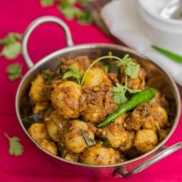 Chettinad Urlai Roast - Baby Potato Roast