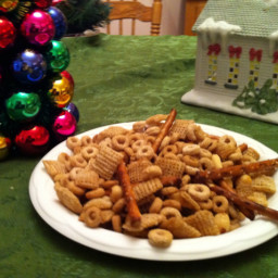 Chex-Cheerios Snack Mix
