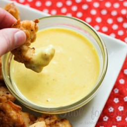 Chick-Fill-A Nuggets and sauce