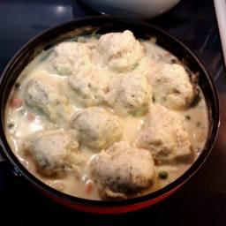 Chicken and Black Pepper Dumplings
