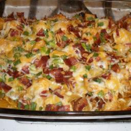 Chicken and Loaded Potato Casserole