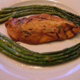 Chicken Asparagus with Lemons and Herbs