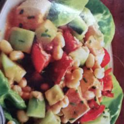 chicken blt (bean, lettuce, tomato)